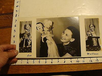 Vintage Puppet Marionette  Photo: LEA WALLACE clowns & dancing