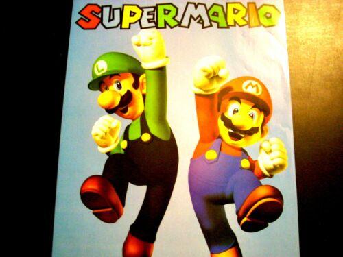 SUPER MARIO 16x20 Poster Mario & Luigi