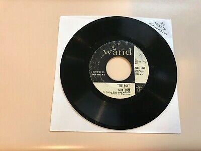 NOVELTY HALLOWEEN 45 RPM RECORD - GLEN GOZA - WAND 1199 - Halloween Glen