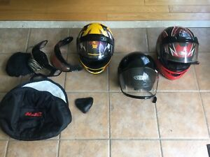 Helmets - snowmobile, atv, power sports