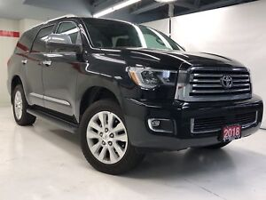 2018 Toyota Sequoia PLATINUM 5.7L GM DEMO