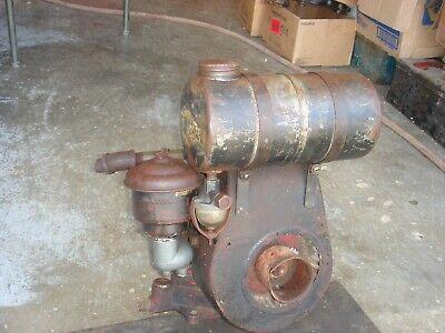 Rare Vintage Briggs Stratton Engine Gas Motor Model N Lot 2
