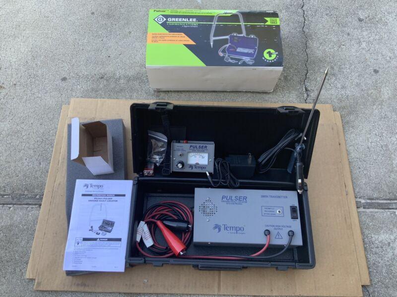 Greenlee PE2003 9V/12V Battery Operated 120 Voltage Missing A Frame