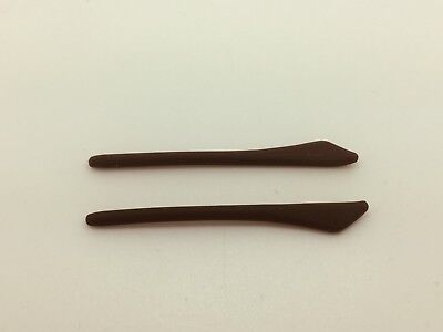 Aftermarket Silicone RayBan Replacement Temple (Arm) Tips RB 3269 BROWN Ray Ban