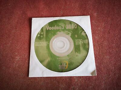 Voodoo 3 3000 Original Driver CD   Ver. 1.01   3dfx   1999   Rar! for sale  Shipping to South Africa