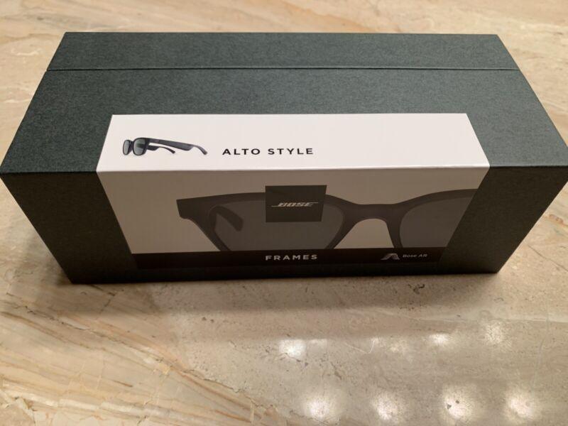 New Factory Sealed Bose Audio Sunglasses - Frames Alto Audio Sunglasses