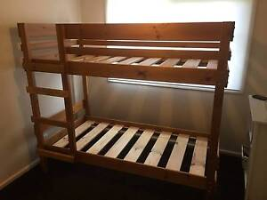 Single Bunk Bed (originally purchased from Bunkers) Balwyn Boroondara Area Preview