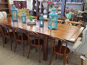 Solid hardwood extension table PerFurEmp Midland Swan Area Preview