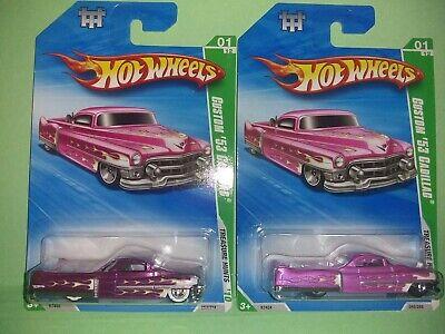 Hot Wheels 2010 Super Treasure Hunt Custom '53 Cadillac $uper & Reg TH Whitewall