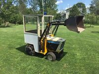 Small bucket loader with operator For hire only $60/hr !