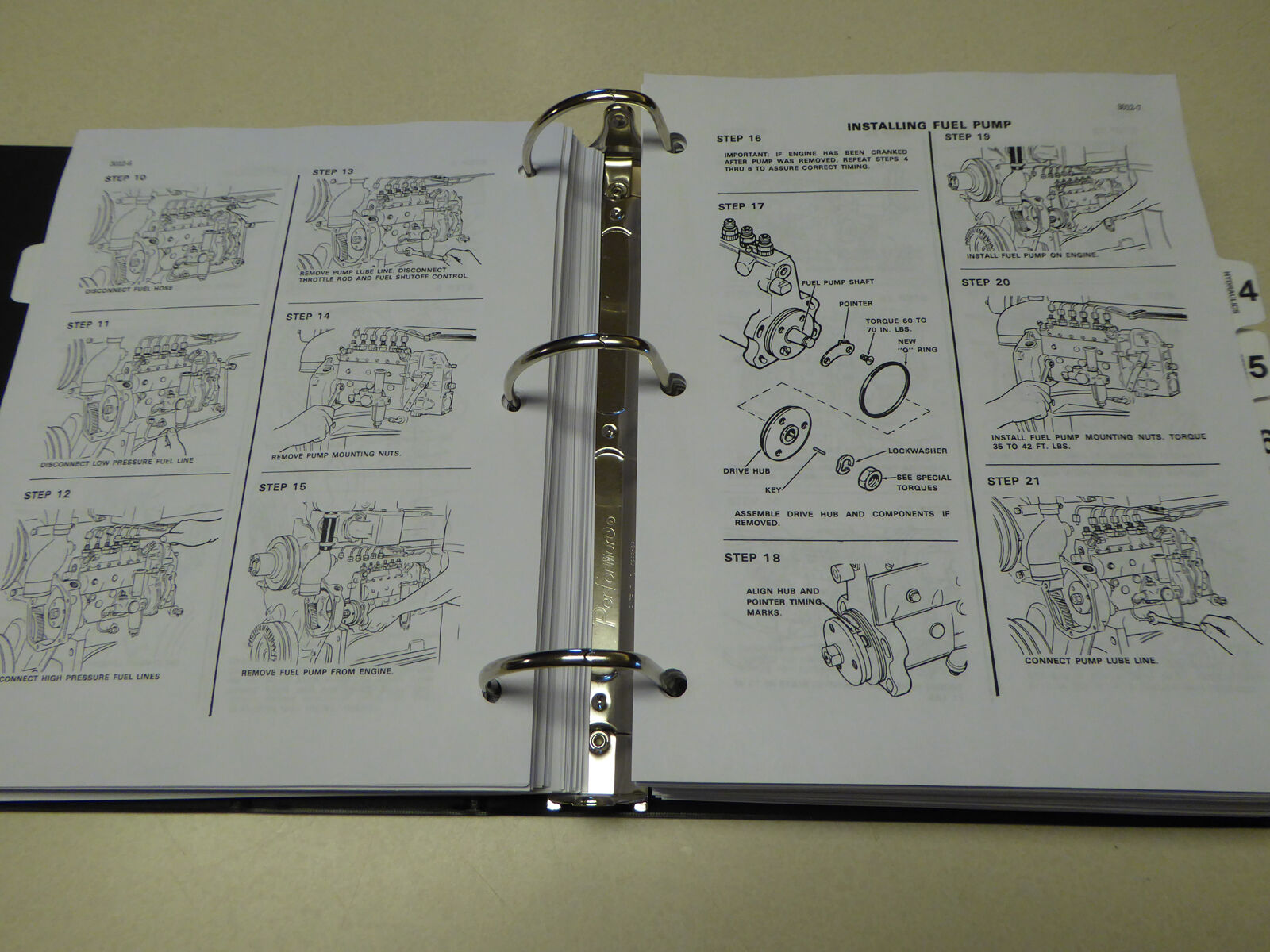 5 of 12 Case 970/1070 Tractor Service Manual Repair Shop Book NEW with  Binder 6 of 12 Case 970/1070 Tractor Service Manual ...