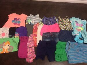 Summer lot of 7 8 girls clothes gap tcp gymboree