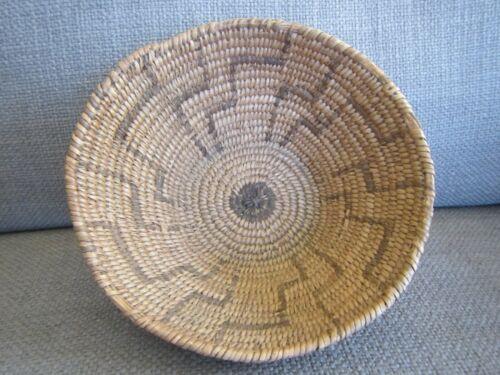 Antique PIMA Woven Basket~Old Native American~ Nice Geometrics!