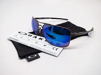 Oakley Gauge 8 L OO4124-0662 Matte Gunmetal Polarized Sunglasses 62mm