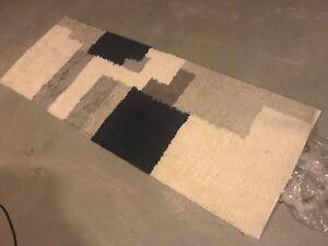 Beautiful 100% Pure wool West Elm Crate & Barrel rugs