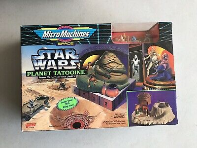 Galoob Star Wars Micro Machines PLANET TATOOINE Playset New Sealed Jabba Hutt