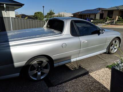 2005 Holden Commodore VZ Storm Ute w. 6sp Manual