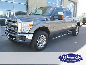 2012 Ford F-350 Lariat 6.7L V8, NAV, LEATHER, BACKUP CAM