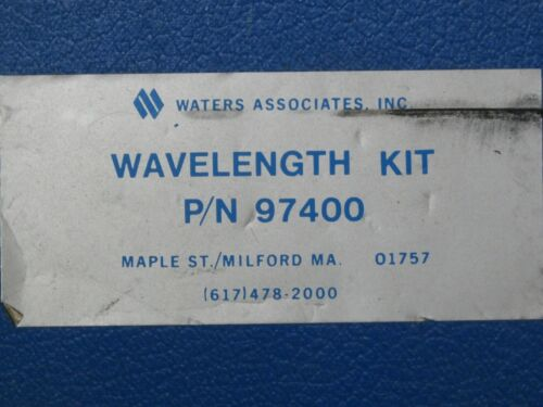 Waters Wavelength Filter Kit 97400