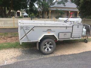 Off road camper trailer full set up / jawa
