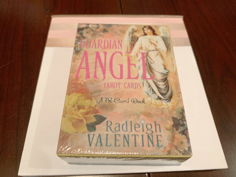 Guardian Angel Tarot Cards 78-Card Deck Angel Oracle Divination Gift Angel Cards