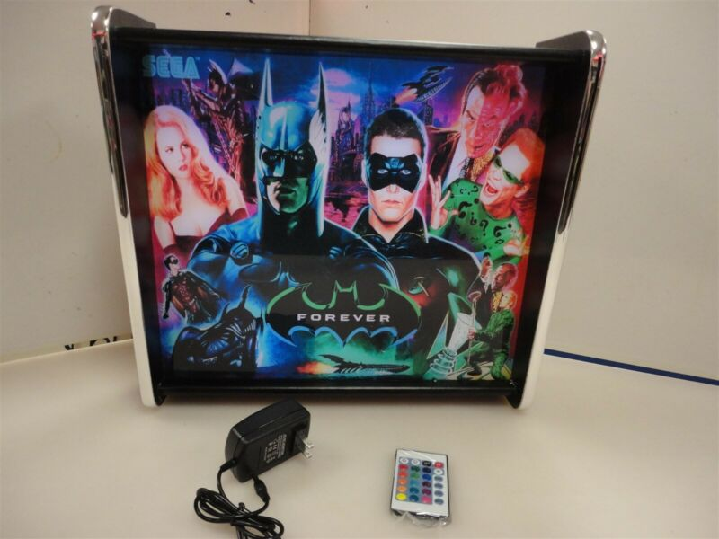 Batman Forever Pinball Head LED Display light box