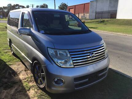 2005 Nissan Elgrand S2 8 SEATER 2.5L V6 VAN $19999 or $120p/w*