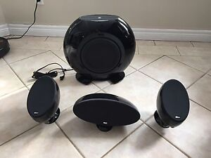 Kef HTS 3001 Left Right Centre Subwoofer Speakers