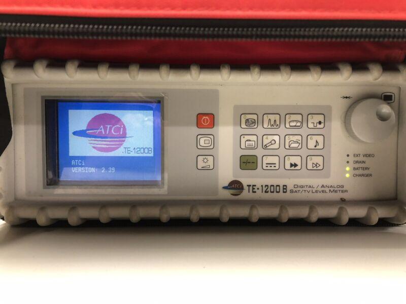 ATCi TE-1200B Digital Analog Satellite TV Level Meter