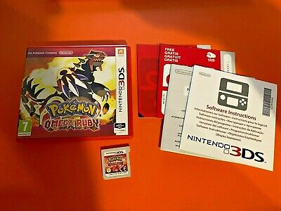 POKEMON OMEGA RUBY - NINTENDO 2DS / 3DS - COMPLETE - VGC - Free P+P