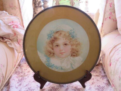 Vintage Antique Chimney Flue Victorian Era Sweet Girl