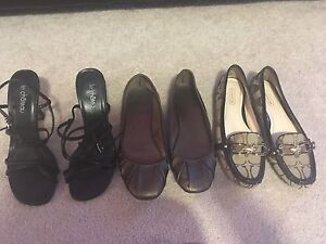 9 pairs of size 5 shoes