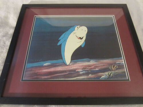 HANNA BARBERA JABBERJAW MATTED/FRAMED CELL WITH CERTIFICATE