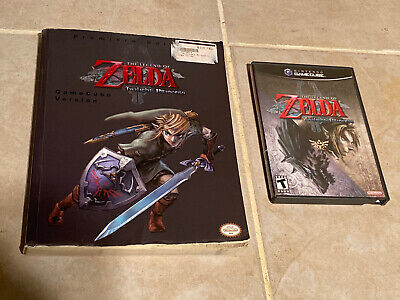 Legend of Zelda Twilight Princess Nintendo GameCube with manual & strategy guide