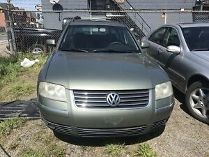 2003 VW Passat Wagon Complete Part Out