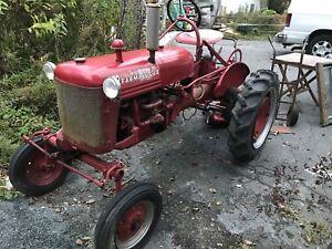 Farm all tractor