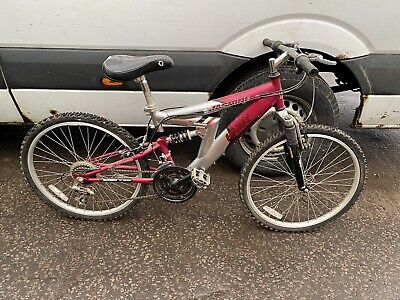 HAWK MOUNTAIN BIKE WITH 24 INCH WHEELS AS ACQUIRED SPARES REPAIR