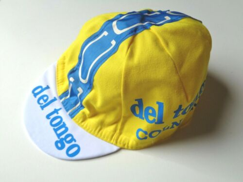 *Vintage COLNAGO Del Tongo Italian made cycle cap*