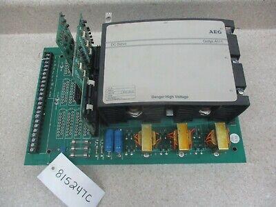 Aeg Gettys Dc Servo Controller Drive 240v  815247c Used