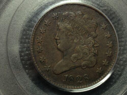PCGS  XF-45 1828 13 Star  Classic Head  Half Cent   Nice Coin