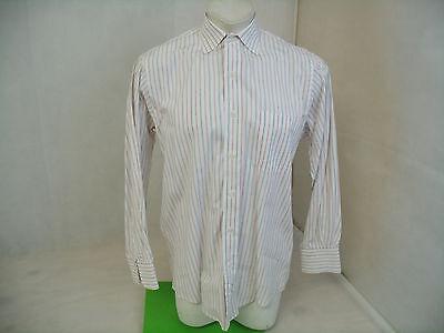 B293 BURBERRY LONDON DRESS SHIRT   SIZE 15 1/2 /33    EXCELLENT CONDITION