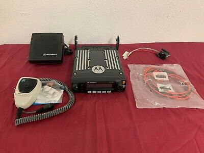 Motorola Xtl2500 7800mhz P25 Digital Trunking Mobile Radio - New Mic- Complete