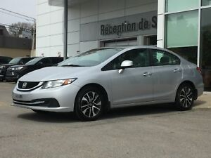 HONDA CIVIC 2013 - EX - AUTO - TOIT - CAMERA - MAGS