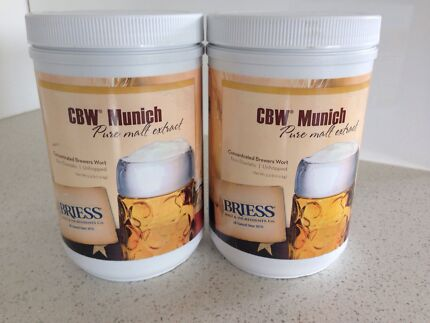 Briess home brew malt extract 1.5kg X 2  Kingston Kingborough Area Preview