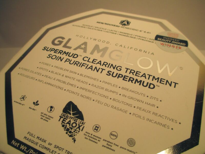 Luxurious packaging of GLAMGLOW SUPERMUD