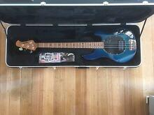 Music Man Stingray 4H 2014 PDN Limited Edition Neptune Blue Howrah Clarence Area Preview