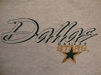 NHL Dallas Stars National Hockey League Fan Classic Style Gray T Shirt -