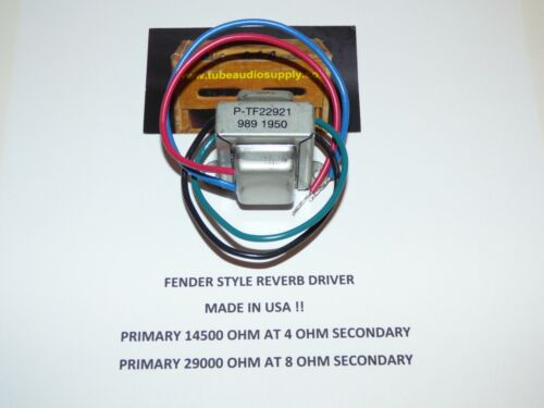 Fender Style Reverb Driver Transformer 022921, 125A20B, Made in USA