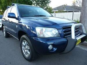 2003 Toyota Kluger CVX Automatic 7 seaters full option drives great Greystanes Parramatta Area Preview