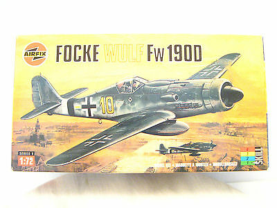 FOCKE WULF Fw 190D DORA FIGHTER AirFix Model Kit Sealed Bag Inside Open Box 1:72